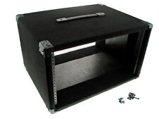 """Procraft 6U 16"""" Deep Equipment Rack 6 Space - Made in the USA - With Rack Screws"""