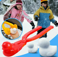 Winter Snow Sand Mold Duck Shaped Snowball Maker Clip Kids Outdoor Toys Tool