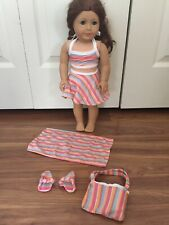 Swimsuit Beach Pool Outfit Set Lot 18� Doll Girl American Vacation