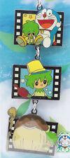 Doraemon Nobita and the Green Giant Film type Metal Charm Mobile Strap JAPAN