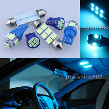 16PCS Ice Blue LED Interior Light Package For Chevy Silverado GMC Sierra 95-98