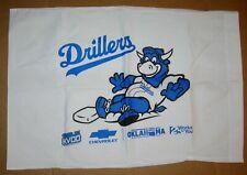Tulsa Drillers SGA Hornsby Mascot Pillowcase NEW Stadium Give Away Promo