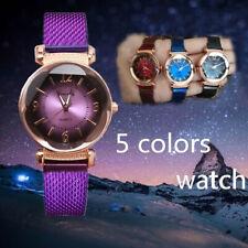 Горячая Женева женски�� модные часы из нержавеющей стали аналоговые кварцевые наручные часы