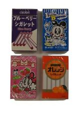 Orion Cigarette form Candy 4pc Set Blueberry Soda Strawberry Orange Import JAPAN