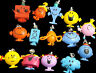 Mr Men and Little Miss Danglers/Charms 14 to choose from Collect them all