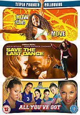 How She Move/Save the Last Dance/All You've Got DVD Box Set NEW SEALED FREEPOST