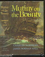 MUTINY on the BOUNTY~Charles Nordhoff & James Norman Hall~HB w DJ