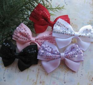 5Pcs Cute Ribbon Flowers BowKnot Crafts For Wedding Appliques JCA066