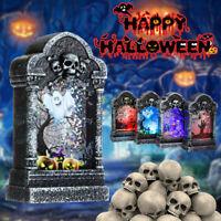 Halloween Gravestone Light Box Light Decoration Prop Tombstone LED Theme