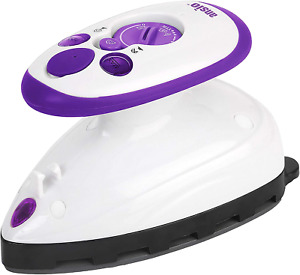 ANSIO Travel Iron Quilting Mini Steam Craft Iron with Ceramic Soleplate   Small