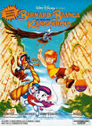 Affiche 40x60cm BERNARD ET BIANCA AU PAYS DES KANGOUROUS 1990 Walt Disney NEUVE