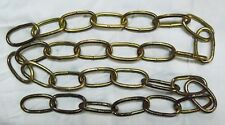 """Chain for light fixture, Antique Brass Plate, Lighting, 36"""" Long, #7 wire, CL2"""