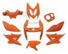 Kit carénage capot 9 pièces en orange mat pour yamaha aerox mbk nitro