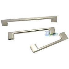 96/128/160mm Stainless Steel Brushed Kitchen Cabinet Bathroom Door Drawer Handle
