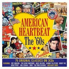 AMERICAN HEARTBEAT-THE '60S  3 CD NEW!