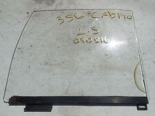 PORSCHE 356 CABRIOLET CONVERTIBLE  DOOR GLASS WINDOW LEFT RAIL B C SC