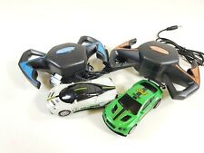 REXCO Battery Operated Slot Car Racing Track with Remote Control