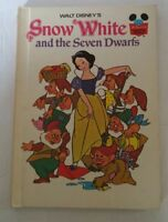 Walt Disney's Snow White and the Seven Dwarfs Hard Cover Book 1973