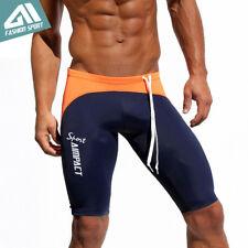 Aimpact Sport Men's Shorts Tight Fitness Workout Trunks Running Gym Biker Shorts