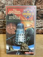 Doctor Who: The Sontaran Experiment & The Genesis Of The Daleks - Double Vhs-