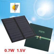 0.7W 1.5V Polysilicon Durable Energy Saving Solar Cell Battery DIY Outdoor