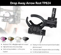 Left/Right Hand Archery Drop Away Arrow Rest Compound Bow Outdoor Hunting
