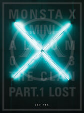 MONSTA X - The CLAN 2.5 Part.1 LOST [LOST ver.] CD+Booklet+Extra Photocards Set