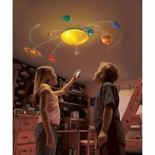 Motorized Solar System Science Kit Educational Planets Astronomy Model Light NEW