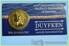 "2006 $5 UNC ""400th Anniversary of the Duyfken's Exploration of Australia"""