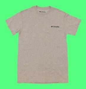 Men's COLUMBIA SPORTSWEAR T-Shirt Short Sleeve Size S