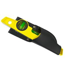 """10"""" Cast Magnetic Scaffolding Level Scaffold Tools Spirit Level with Pouch TE3"""