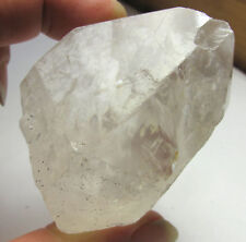 White Light Pleiadian Master Starbrary Pyrite Included Quartz Crystal Point #6
