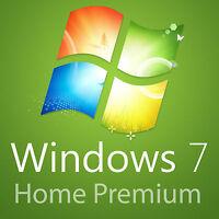 Windows 7 Home Premium VOLLVERSION 32 BIT 64 BIT win 7 home key