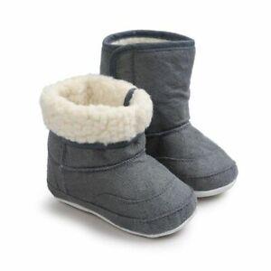 Baby Girls Boots Winter Warm Shoes Toddler Newborn Comfortable Footwear Fashion