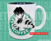 Seto Kaiba Yu-Gi-OhStarbucks Anime Manga Japanese Insipred Cartoon Geek Nerd Mug