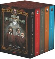 A Series of Unfortunate Events #5-9 Netflix Tie-in Box Set [New Book]