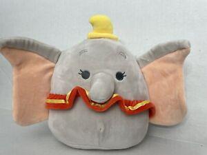 "Disney Dumbo Squishmallow 8"" Plush NEW Kellytoy 2021 New"