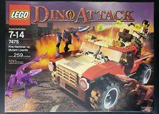 LEGO Dino Attack Fire Hammer vs. Mutant Lizards (7475)
