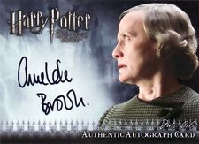 Harry Potter Half Blood Prince Update Amelda Brown as Mrs. Cole Auto Card