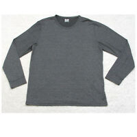 32 Degrees Heat Gray Crewneck Tee T-Shirt Top Polyester Mans Solid XL X-Large
