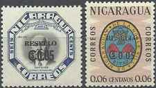 Timbres Nicaragua 884/5 ** lot 28573