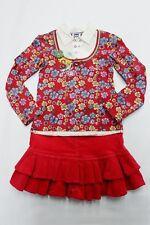 Completo vestito abito bambina anni 8  velluto rosso Euro 64,80 Natale