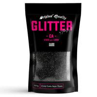 Black Premium Glitter Multi Purpose Dust Powder 100g / 3.5oz Cosmetic Face