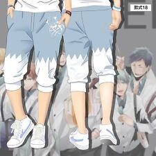 Hot Anime Kuroko no Basuke Kuroko Tetsuya Cosplay Shorts Pants Cropped Trousers