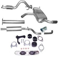 Vorderrohr Rohr Mittel /End Schalldämpfer Auspuff VW Golf VI  Montagesatz