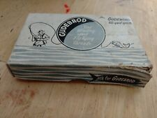 Vintage Gudebrod Thread Box Of 12 50yd Spools, Gudebrod Thread