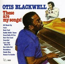 These Are My Songs! - Otis Blackwell (2008, CD NIEUW)