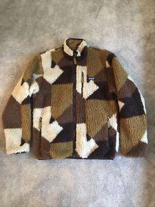 Patagonia Retro-X Fleece Jacket Blocks Bear Medium