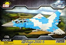 COBI Mirage 2000-5 (5801) - 400 elem. - Modern French multirole fighter aircraft