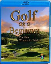 BEGINNING GOLF INSTRUCTION DVD GOLF SWING-PUTTING-CHIPPING-SAND SHOTS [Blu-ray]